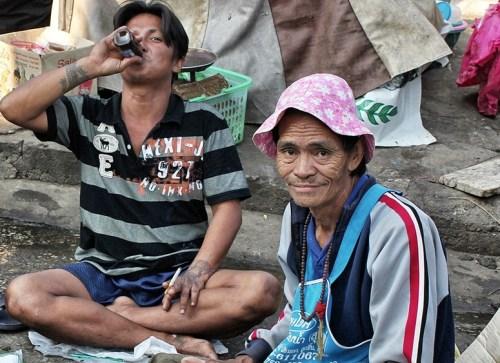 fishermen market in Thailand