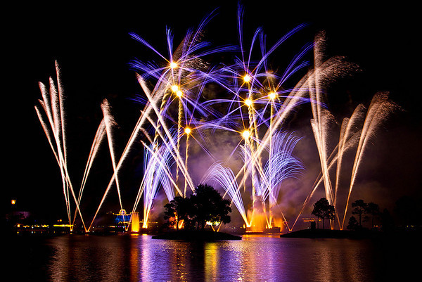 Experience the Orlando fireworks