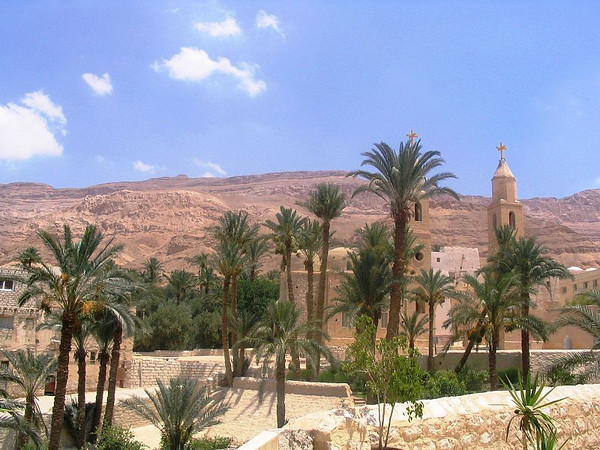St Anthony's Monastery, Red Sea Mountains