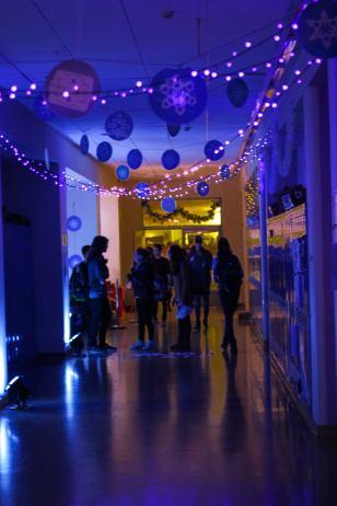Juniors' hallway
