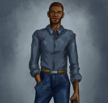 Character art for Oliver by Lucy Zhu for Bloodlines
