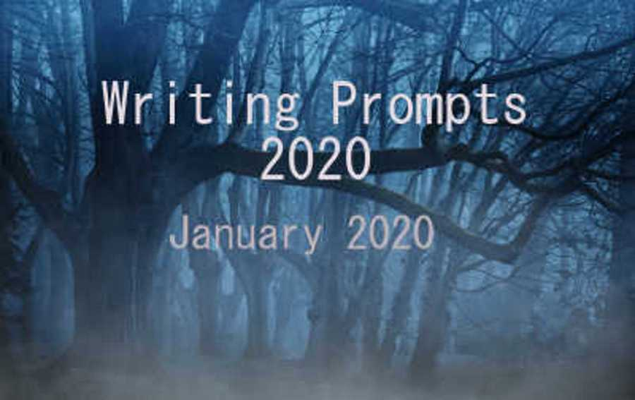 January 2020 Writing Prompts