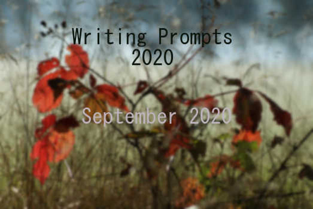 2020 Writing Prompts Sep
