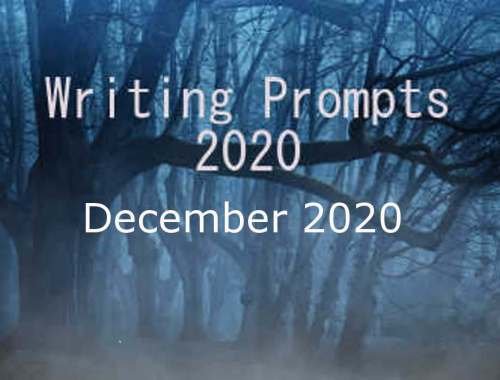 2020 Writing Prompts Dec