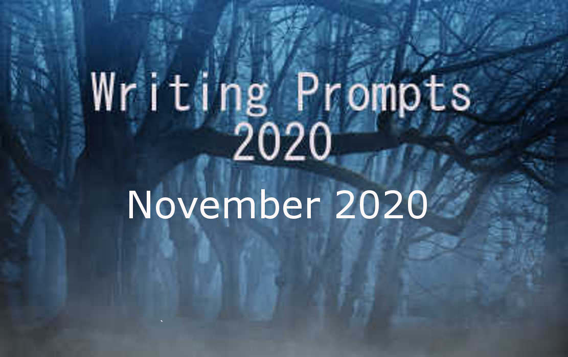 2020 Writing Prompts Nov