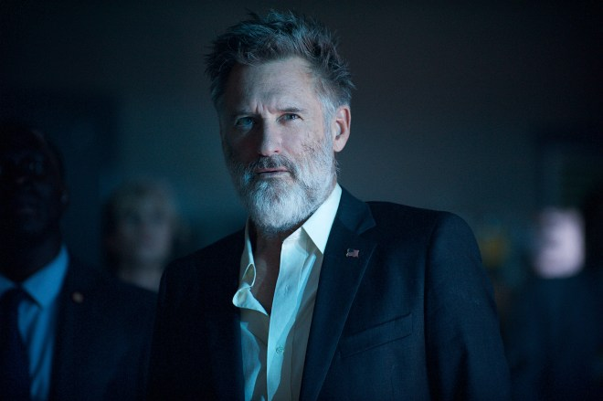 "Bill Pullman reprises his ""Independence Day"" role of Thomas Whitmore. Photo Credit: Claudette Barius."