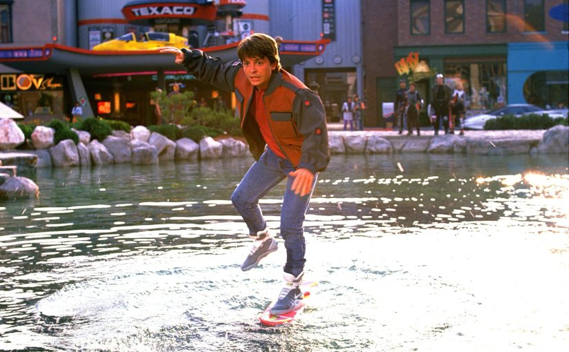 Marty McFly and Social Distancing