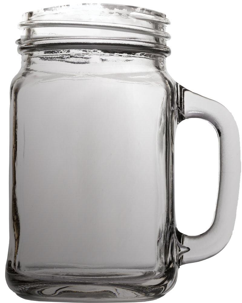 mason jar mug as