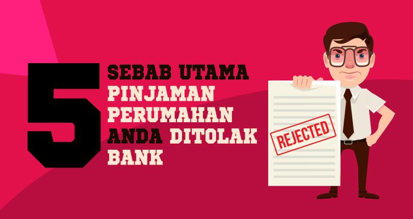 5 Sebab Utama Pinjaman Perumahan Anda Ditolak Bank