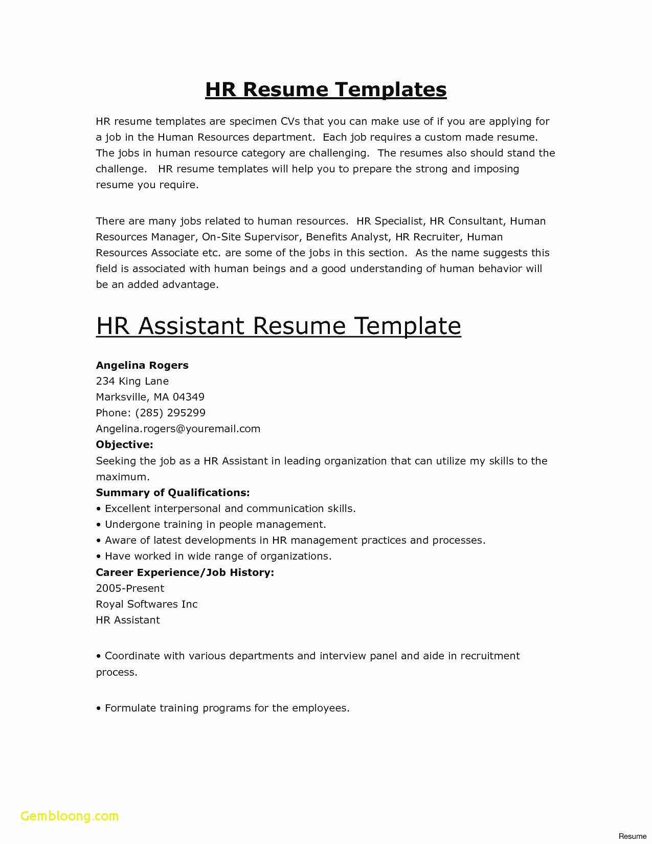 Guerrilla Resume 14 Good Resume Templates Collection Resume Database Template