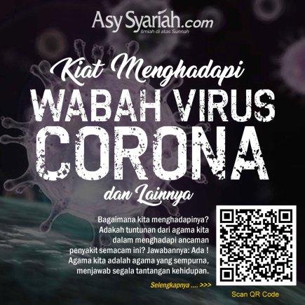Kiat Menhadapi Wabah Virus Corona