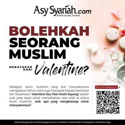 muslim dilarang merayakan valentine day