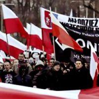 Tak było w Warszawie. Relacja z zamieszek