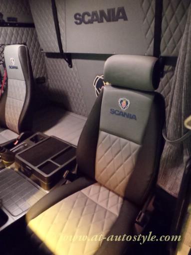 Scania 143 interior  AT Autostyle