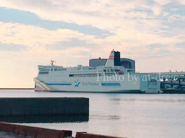 滋賀から北海道家族旅行 小樽港