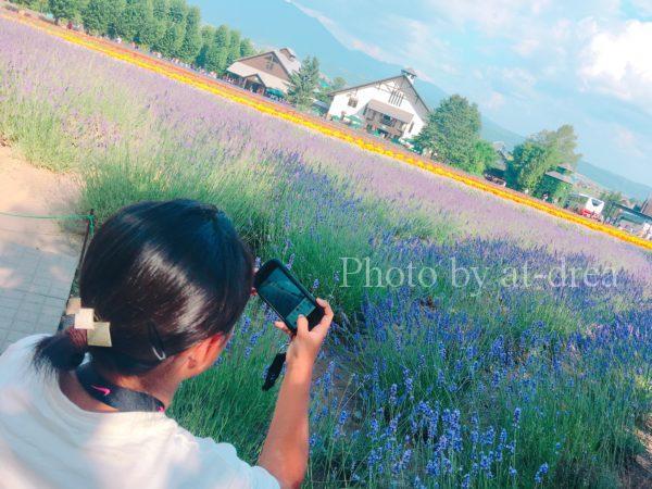 滋賀から北海道家族旅行 ファーム富田