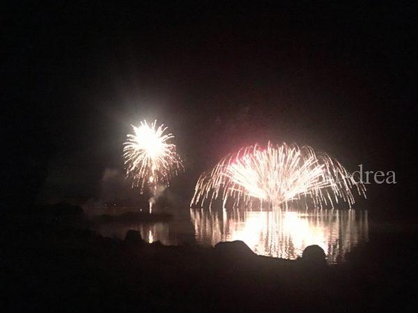 滋賀から北海道家族旅行 女満別湖畔花火大会