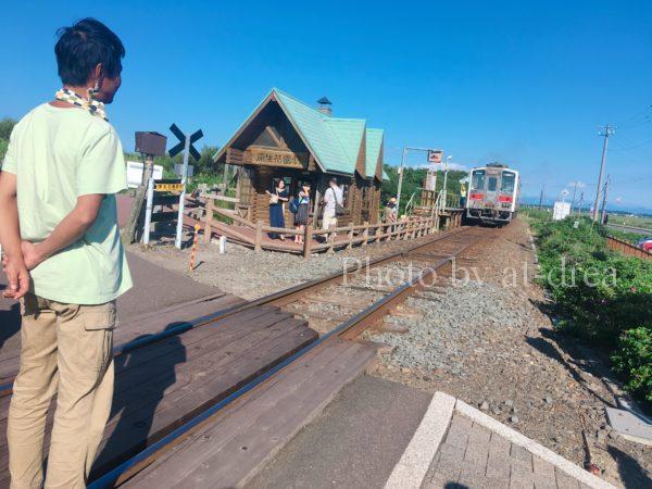 滋賀から北海道家族旅行 小清水原生花園