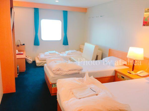 新日本海フェリー あざれあ ステートA和洋室