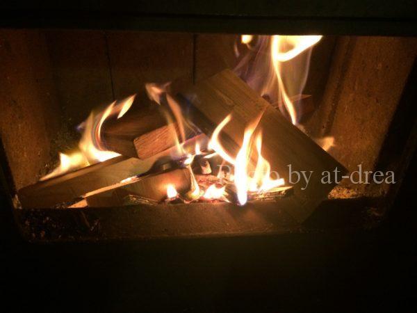 薪ストーブ 焚き方