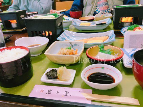 鳥取 浜村温泉 魚と屋 朝食