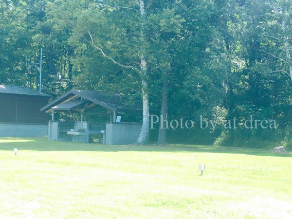 女満別湖畔キャンプ場 サイト
