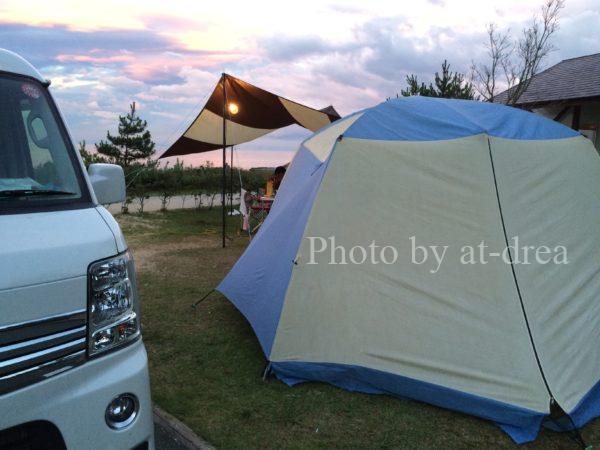 瀬戸内東予シーサイドキャンプ場