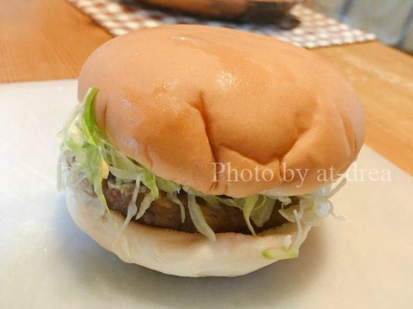 ビーパス年輪 ハンバーガー