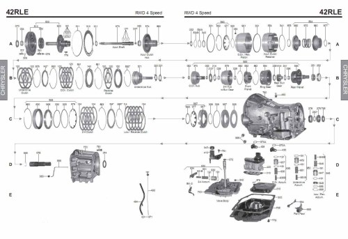 small resolution of transmission repair manuals 42le a606 42rle instructions for 42rle transmission sensor diagram 42rle transmission diagram