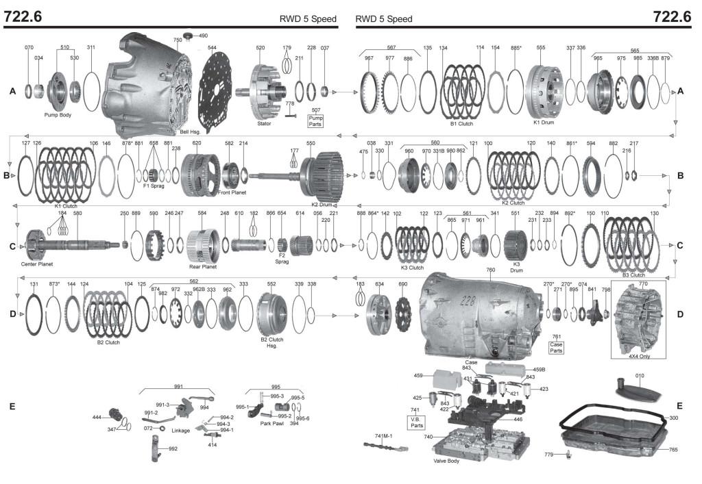 Service manual [Transmission Repair Manuals 722 6