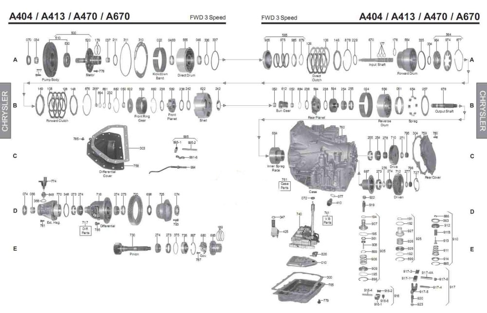 medium resolution of diagram of chrysler a413 wiring diagram forward diagram of chrysler a413