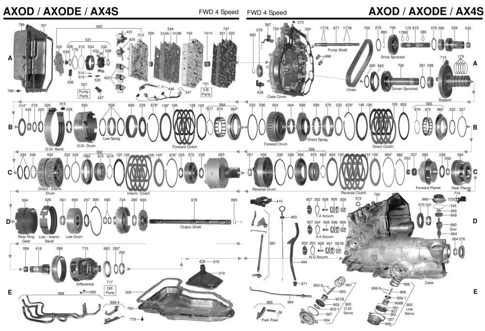 medium resolution of axod valve body diagram