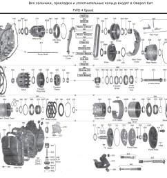 transmission repair manuals cd4e la4a el instructions for rebuildcd4e diagram 2 [ 2156 x 1417 Pixel ]