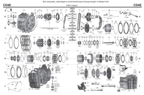 small resolution of transmission repair manuals cd4e la4a el instructions for rebuildcd4e diagram 2