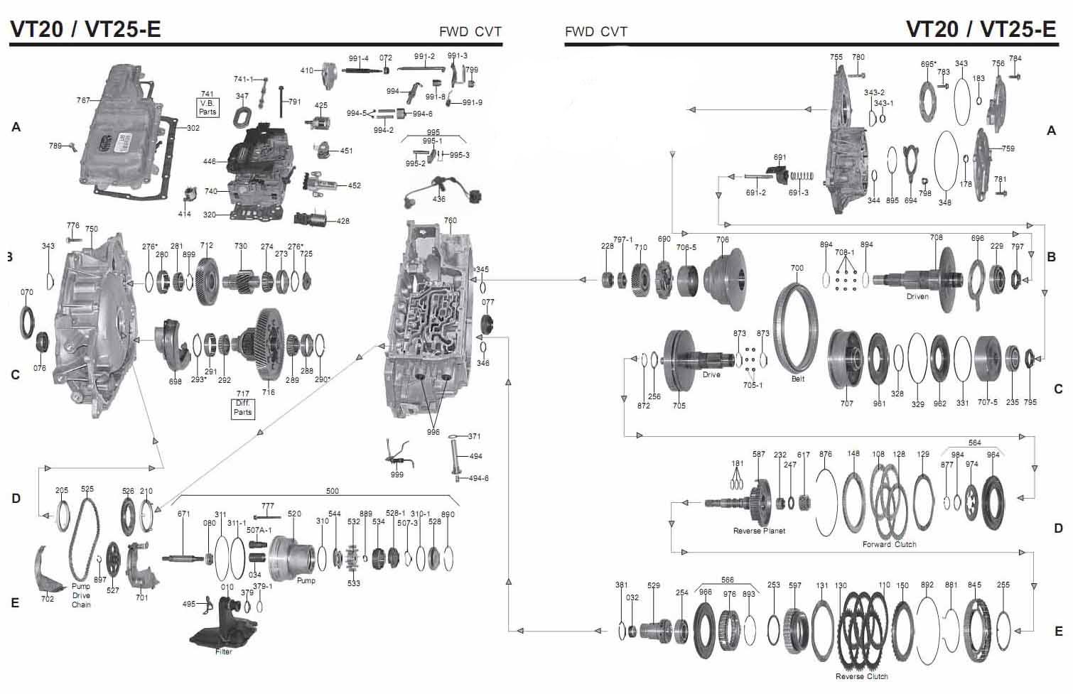 hight resolution of st vt20 25 transmission scheme