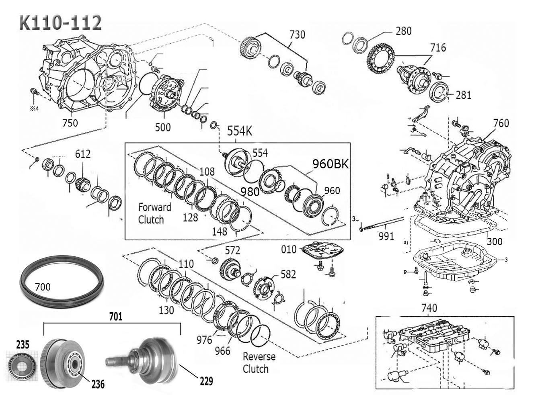K110 K111 K112 Scheme Diagram