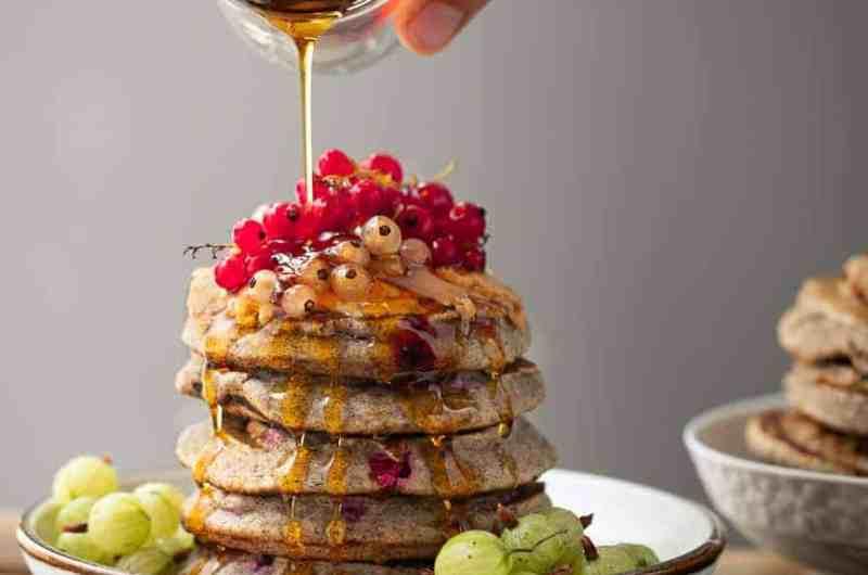 Easy pancakes, 1-Bowl Buckwheat Berry Pancakes