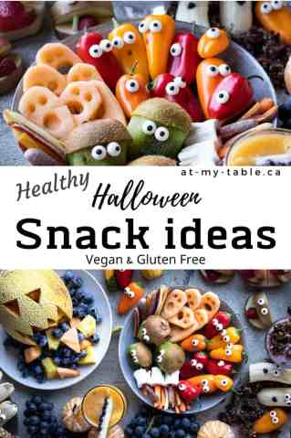 healthy easy Halloween snack ideas gluten free and vegan