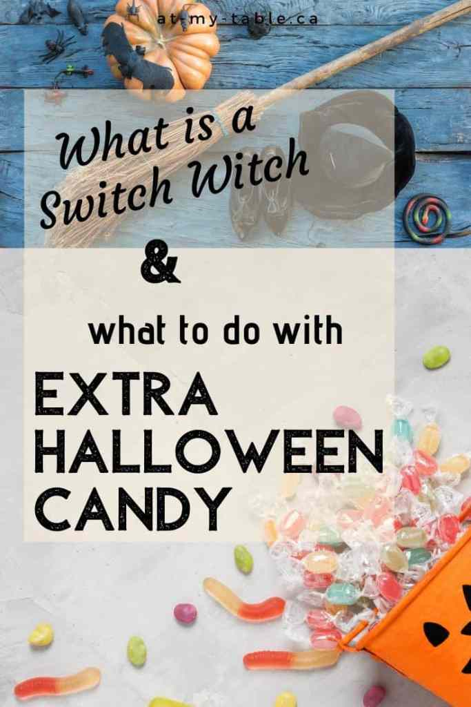 What to do with all your Halloween candy, switch witch