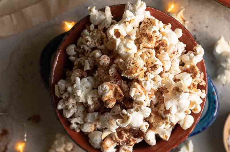 Festive Cinnamon Spiced Popcorn Recipe