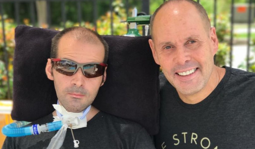Sportscaster Ernie Johnson Shares Emotional Message About COVID-19 and His Son During 'The Match'