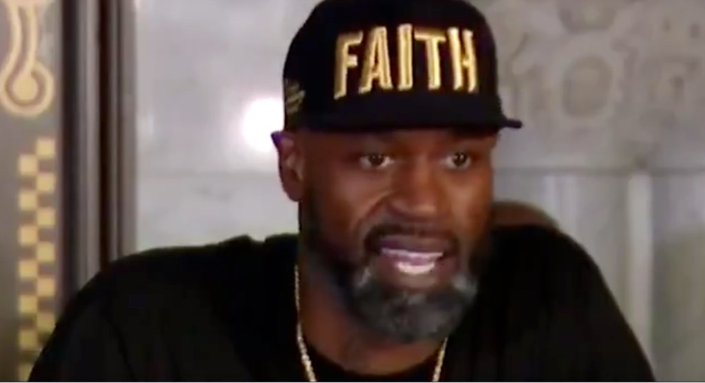 Stephen Jackson Vows to Walk George Floyd's Daughter Down the Aisle If That Day Ever Comes