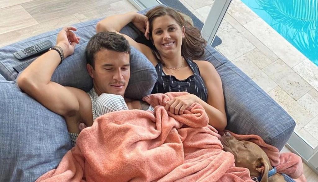 Alex Morgan and Servando Carrasco Top 10 Photos With Their Infant Daughter