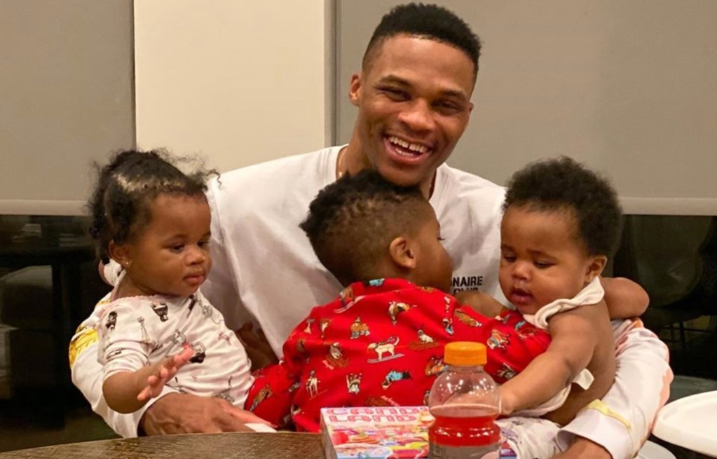 Russell Westbrook Brings Special Item From Home Into the Bubble to Make Sure His Son Feels Close