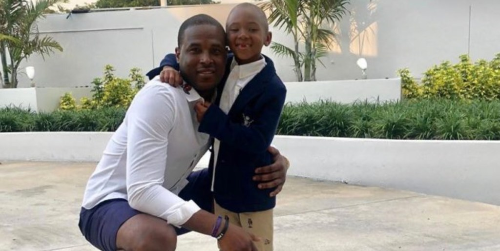 Watch the Extremely Heartwarming Moment Dion Waiters Is Reunited With His Son After Months in the Bubble