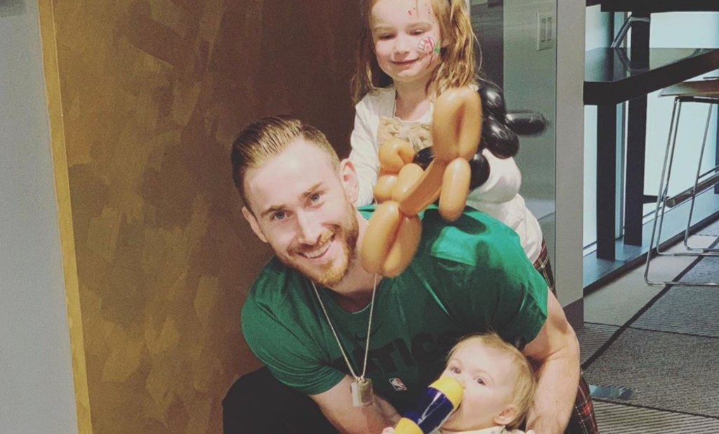 Gordon Hayward's Wife Says She Can't Wait for Him to Meet Their Son After Giving Birth While He Was in NBA Bubble