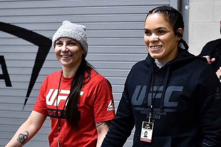 UFC Power Couple Amanda Nunes and Nina Ansaroff Welcome Baby Girl