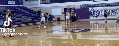 Watch This: Opposing High School Team Helps Player Hopping On One Foot With Injured Ankle Get Her 1,000th Point!