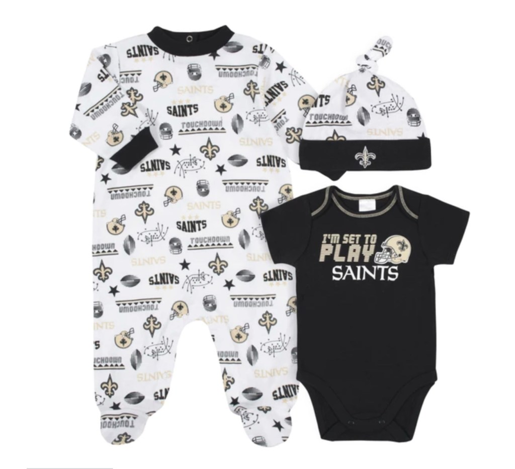 Hey, Baby-Having Sports Fans, You're Going to Want Your Little One In These Adorable Outfits From Gerber