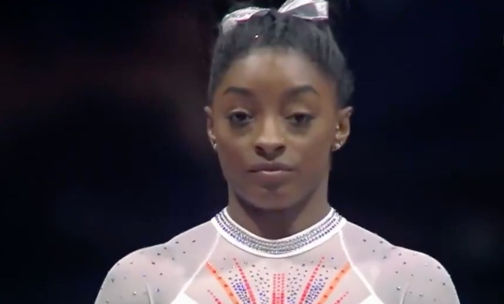 Simone Biles Made History While Winning the U.S. Classic and Her Leotard Says It All